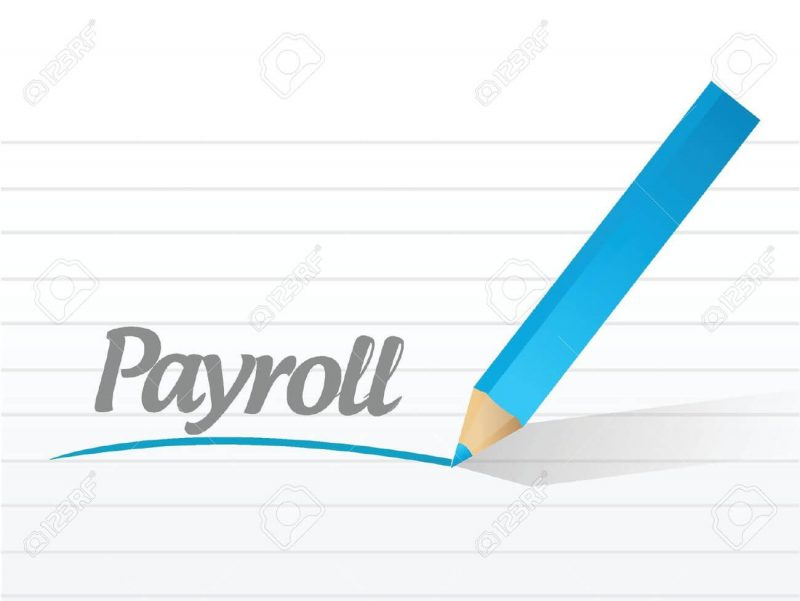 Sally's Bookkeeping Services - Single Payroll Clipart